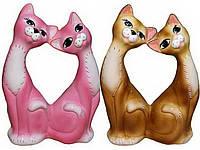 Копилка Влюбленные коты глянец большая КЛС-8807