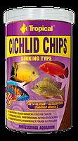 Сухой корм Tropical Cichlid Chips для цихлид 60924, 250ml /130g