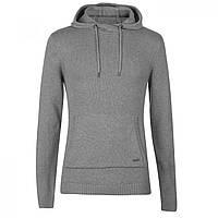 Джемпер Firetrap Hooded Knit Grey Marl - Оригінал