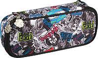 Пенал  662 Monster High мягкий Kite, 1 отделение