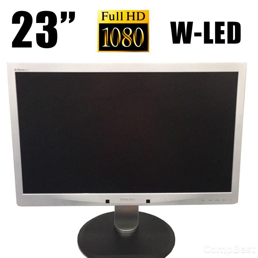 """Philips 231P4U / 23"""" / 1920x1080 (16:9) / VGA, USB 3.0, LAN"""