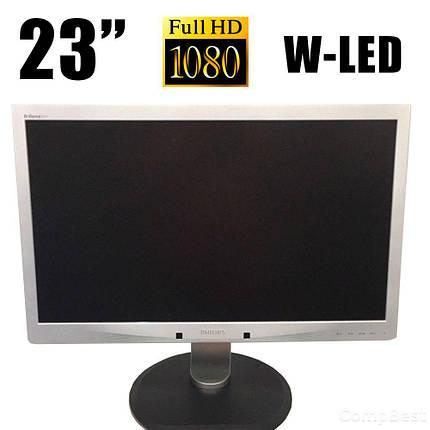 "Philips 231P4U / 23"" / 1920x1080 (16:9) / VGA, USB 3.0, LAN, фото 2"