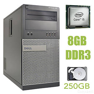 Dell Optiplex 790 MT / Intel Core i5-2400 (4 ядра по 3.1-3.4GHz) / 8GB DDR3 / 250GB HDD, фото 2