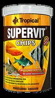 Сухой корм для рыб Tropical SuperVit Chips 60814, 250ml /130g