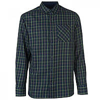 Рубашка Pierre Cardin Tartan Check Grn/Red/Yell - Оригинал
