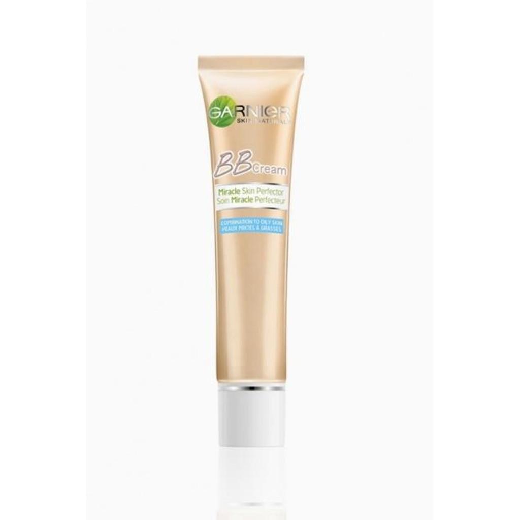 Комплексный увлажняющий ВВ-крем GARNIER Skin Naturals Секрет Совершенства против жирного блеска, светло-бежевый