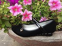 Туфли школьные для девочки р35,37 черного цвета ТМ W.niko