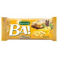 Bakalland. Батончик злаковый банан шоколадная глазурь , 40 г (5900749618991)