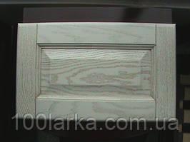 Мебельнные фасади з масиву дерева (білений ясен, патина) кухонні фасади