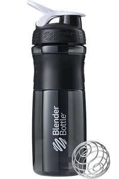 Спортивная бутылка-шейкер BlenderBottle SportMixer 820ml Black/White (ORIGINAL)