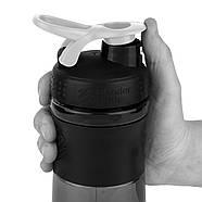 Спортивная бутылка-шейкер BlenderBottle SportMixer 820ml Black/White (ORIGINAL), фото 2