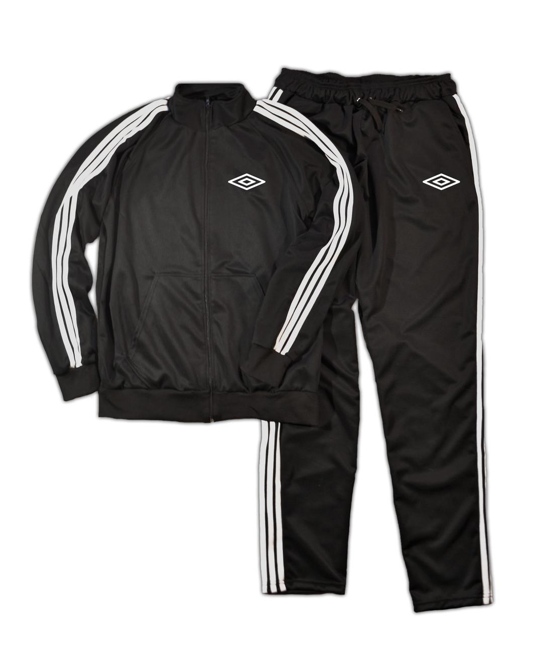 Черный спортивный костюм Umbro (Умбро)