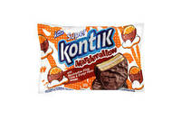 Konti. Печенье Super Kontik  с маршмеллоу какао-апельсин  30г (4823088603095)