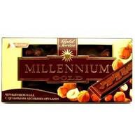 Millennium. Шоколад Gold черный с орехами 33 100г(4820005193080)