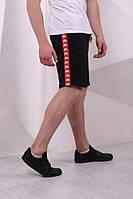 Мужские спортивные Шорты Карра с красными лампасами