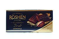 Roshen. Шоколад черный Brut 90гр (4823077621291)
