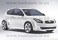 Дефлекторы окон Heko на Hyundai Accent 2006-2011 3D