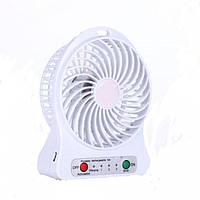 Портативный usb мини-вентилятор ( белый )