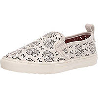 Кроссовки COACH C115 Slip-On Sneaker with Cut Out Tea Rose White - Оригинал, фото 1