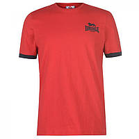 Футболка Lonsdale Logo Red/Navy - Оригинал