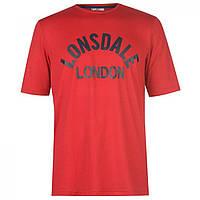 Футболка Lonsdale Arch Red/Navy - Оригинал
