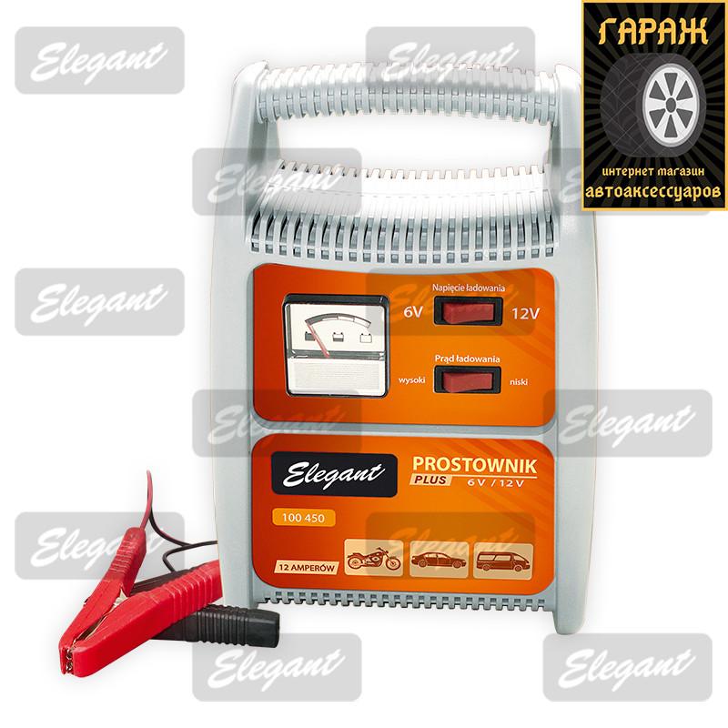 Зарядное для аккумуляторов 6/12 12A Elegant 100 450