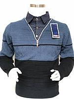 Обманка молодежная (рубашка) на мальчика FIVE