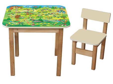 """Детский столик + 1 стульчик """"Файна гра"""", фото 2"""