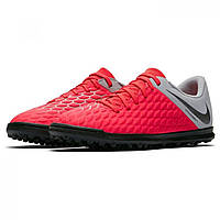 Сороконожки Nike Hypervenom Phantom Club Crimson/Grey - Оригинал