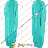 Штаны на манжете для девочек Размеры 122 и 134 см (3499-3)
