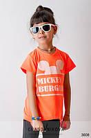 Детская туника для девочки Mickey оранж