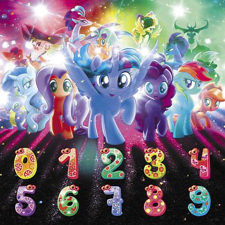 """Мольберт детский """"Pony"""" 3 в 1, фиолетовый, фото 2"""