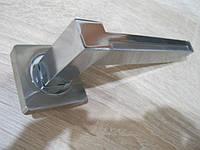 Ручка дверная Trodos 516 сатин + хром