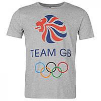 Футболка Team GB Logo Tee Grey Marl - Оригинал
