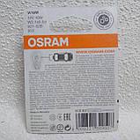 Лампа 12В W16W 16Вт бесцокольная W2,1X9,5D blister OSRAM (2шт), фото 2