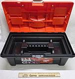Ящик валіза для інструменту пластиковий посилений 16 (коробка), фото 3