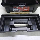 Ящик валіза для інструменту пластиковий посилений 16 (коробка), фото 4