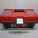 Ящик валіза для інструменту пластиковий посилений 16 (коробка), фото 2