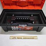 Ящик валіза для інструменту пластиковий посилений 16 (коробка), фото 7