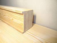 Клееный брус Лиственница Сибирская 60х80 профилированный сухой, фото 1