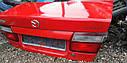 Крышка багажника Mazda 626 GF 1997-2000г.в. седан красная, фото 3
