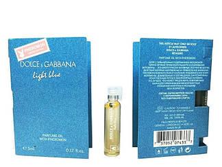 Dolce Gabbana Light Blue pour femme - Parfume Oil with pheromon 5ml