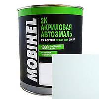 Автоэмаль Mobihel 202 Снежно-Белая 0.1л, акриловая.