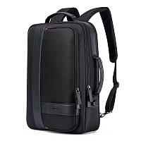 Рюкзак антивор Bopai 751-006561 2в1 с USB портом и отделением для ноутбука, черный, 26л