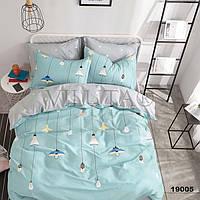 Комплект постельного белья ранфорс 19005