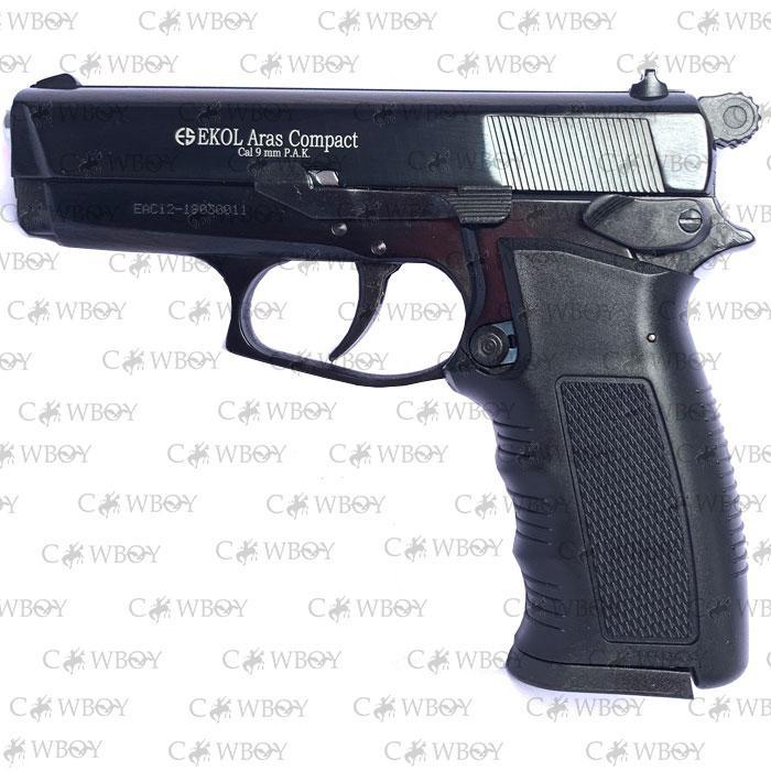Шумовой пистолет Aras Compact, черный