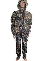 """Мембранный костюм для Охоты и Рыбалки """"Дюспо"""" (на резинке) Непромокаемый 46-56р"""