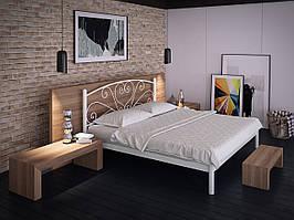 Металлическая полуторная кровать Карисса. ТМ Тенеро