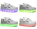 """Детские LED кроссовки с кабелем USB копия """"Fila"""" Размеры 34 35 хит продаж, фото 2"""