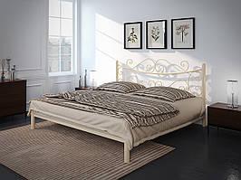 Металлическая полуторная кровать Азалия. ТМ Тенеро
